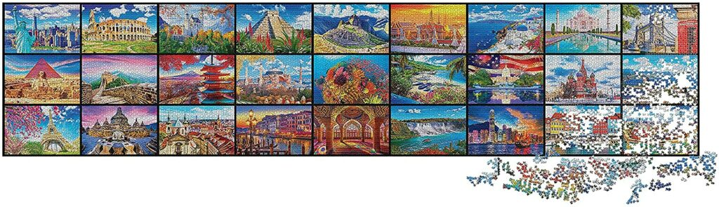 De grootste puzzel ter wereld