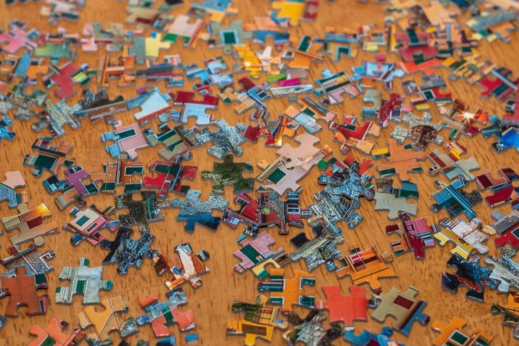 Grootte puzzel